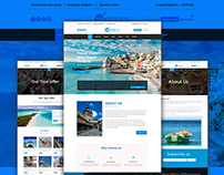 Free Travel agency redesign