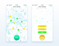 Spot Hound - iPhone App UI/UX Design