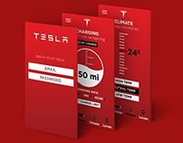 Tesla App Redesign