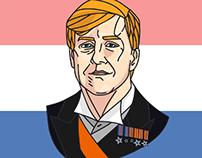 King Willem Alexander portrait