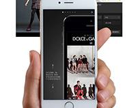 Dolce&Gabbana Mobile App