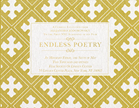 Endless Poetry - Movie Premiere Invitations