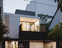 ThL house  CGI and Design by 893.studio