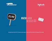 ALTUNBİLEKLER - 50 TL alışverişe, Digitürk 9,99 TL.