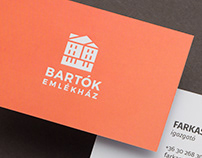 Bartók Memorial House | Branding