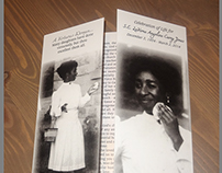 LaVerne Jones' Celebration of Life Program