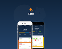 Sqrll Fintech App | Mobile UI/UX Design | Team Uncommon