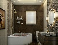 Neoclassical Bathroom - Solik Apartment