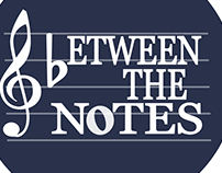 "Logo for ""Between the Notes"""