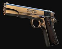 Colt 1911 (Low Poly)