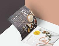 Kaffé Prestigio / drink menu / print
