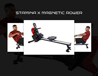 Stamina X Magnetic Rower - Product Presentation