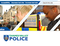 Website Design for the Police