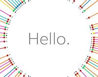 Hello. - A Data Visualization Project