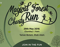Magical Forest Run - Digital Banners
