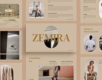 Zemira - Presentation Template
