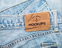 10 PSD Clothing Label Mockups