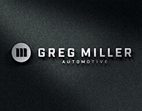 Greg Miller Automotive Brand Identity