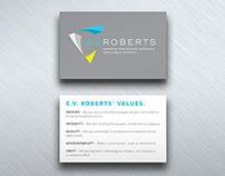E.V. Roberts – Print, Digital, Web