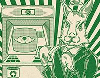 Conejo y dinero