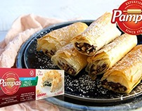 Photography and Styling for Pampas Pastry