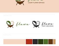 Branding for Flawa Luxury Flower Services Ltd