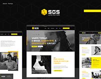 SGS - Redesign do Site