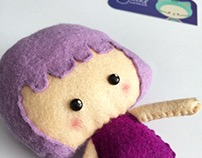 Plum Plush Toy