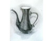 Old coffee  crock