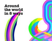 Around the world in 8 ways
