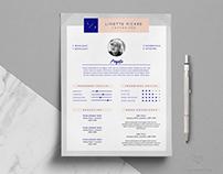 LINETTE — Resume Template