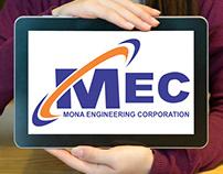 Mona Engineering Corporation Logo Design