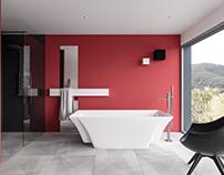 Minimal Bathroom / Interior Design
