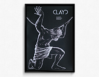 Clayd – Gigposter