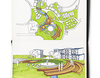 Sketches: Otara Lake and  Waterways