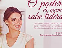 Dia Internacional da Mulher | Magazine Olimaq