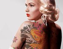 Tattooed Jayne Mansfield