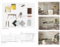 Contemporary style kitchen design Update