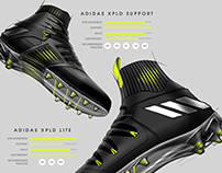 Adidas XPLD Football Cleat Design