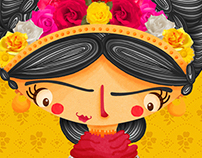Livro: Os vestidos de Frida