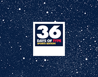 36 Days of type - Sports