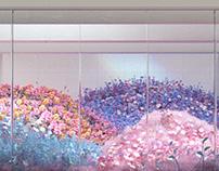 Public Art Project | JCDecaux Screen Guangzhou Airport