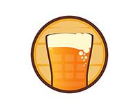 Calculadora de Bebida Logo Design