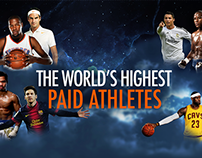 Infographic , The world's highest paid athletes