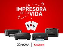 Impresora de tu vida - Pixma Canon