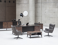 Pierre Cardin Office Furniture Photo Shoot '17