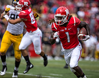 Rutgers Football Photography