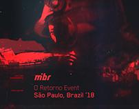 MIBR - O RETORNO