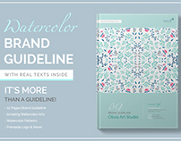 Watercolor Brand Guideline