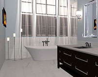 Master Bath With Eberhardt Design